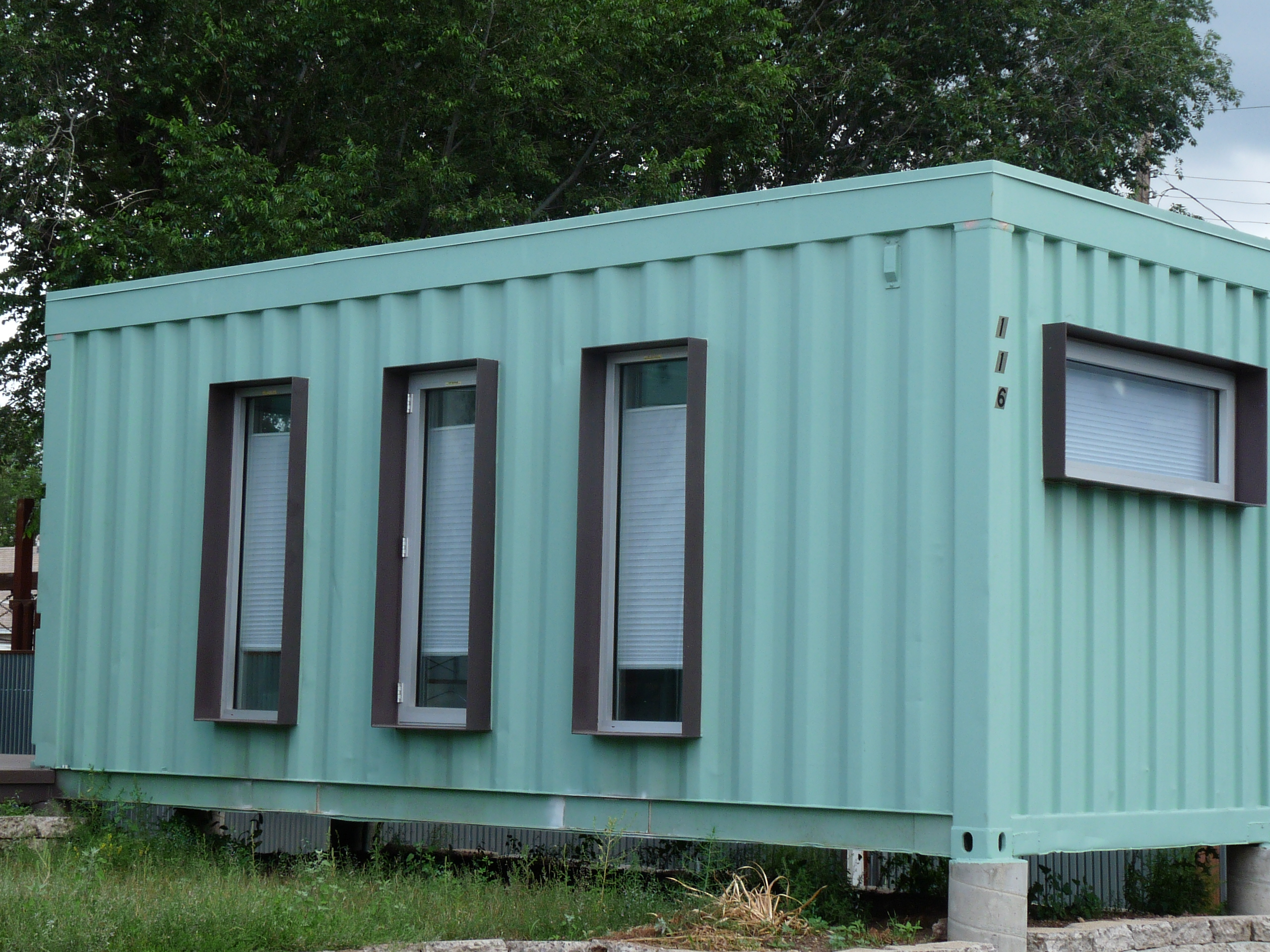 Shipping container houses rpm midwest for Midwest home builders