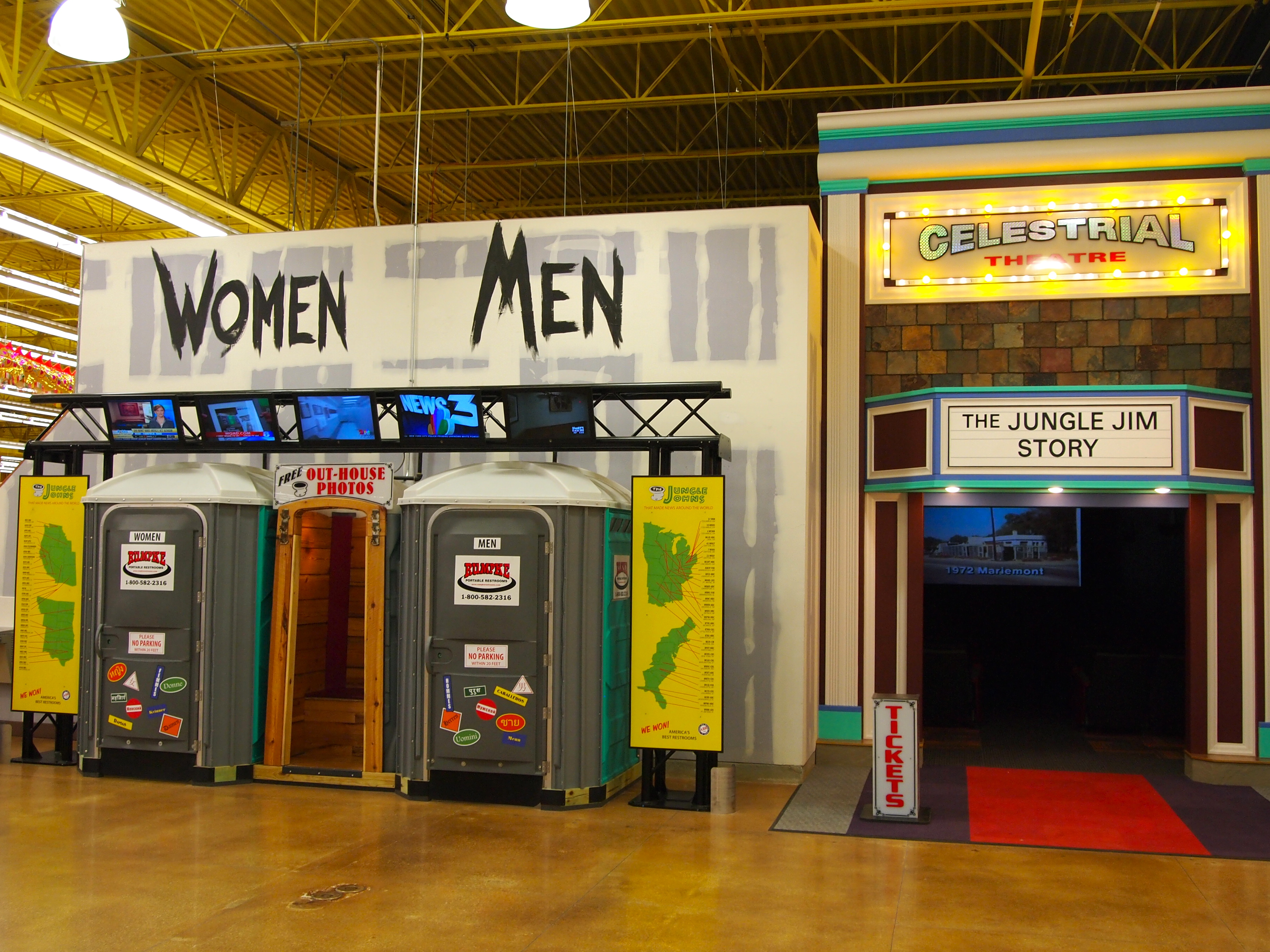 A world of food and more at jungle jim 39 s rpm midwest for Jungle jim s bathroom photos