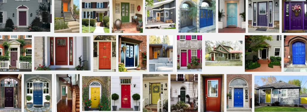 Make A Statement With A Bold Front Door!