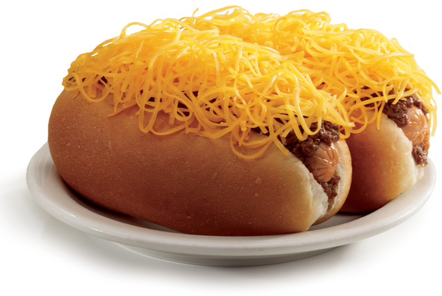 cincinnati chili dog